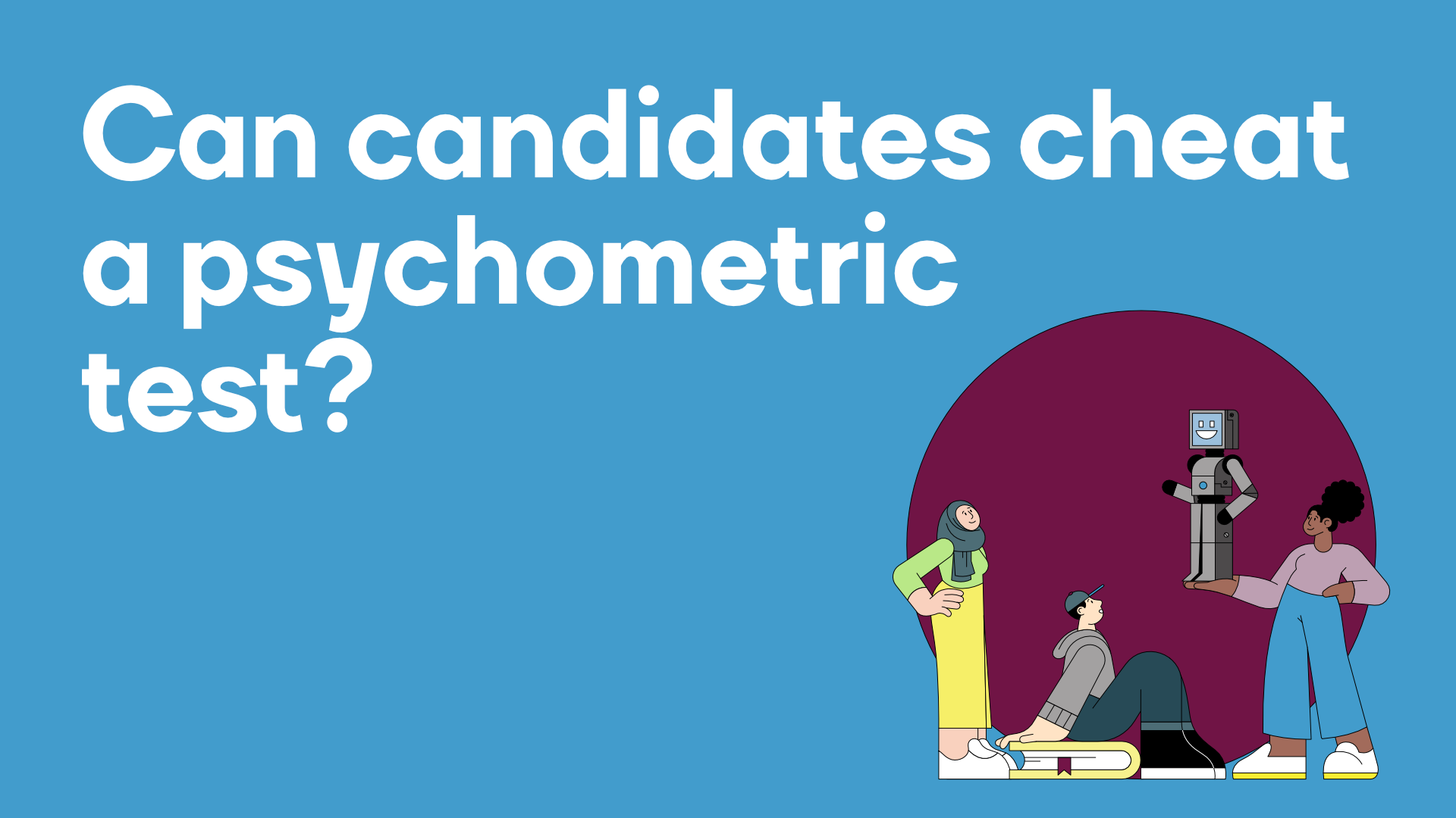 Can you cheat a psychometric test